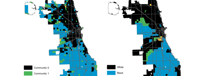 Connecting Digital and Physical Segregation in Chicago